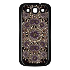 Luxury Ornament Refined Artwork Samsung Galaxy S3 Back Case (black)