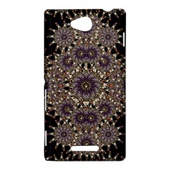 Luxury Ornament Refined Artwork Sony Xperia C (S39H) Hardshell Case