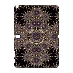 Luxury Ornament Refined Artwork Samsung Galaxy Note 10.1 (P600) Hardshell Case