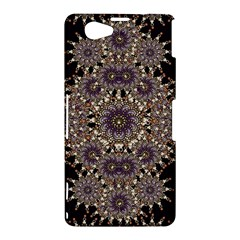 Luxury Ornament Refined Artwork Sony Xperia Z1 Compact Hardshell Case
