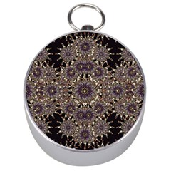 Luxury Ornament Refined Artwork Silver Compass