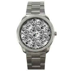 Flower Lace Sport Metal Watch