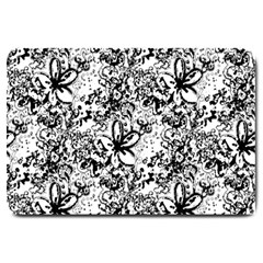 Flower Lace Large Door Mat