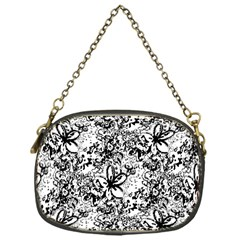 Flower Lace Chain Purse (One Side)