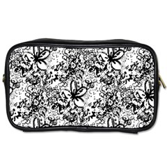 Flower Lace Travel Toiletry Bag (one Side)
