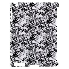 Flower Lace Apple iPad 2 Hardshell Case (Compatible with Smart Cover)
