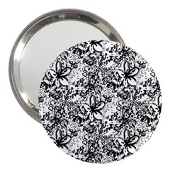 Flower Lace 3  Handbag Mirror
