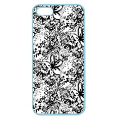 Flower Lace Apple Seamless Iphone 5 Case (color)