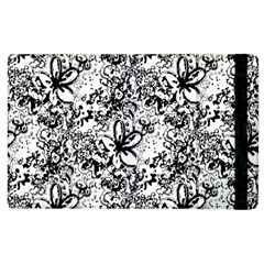 Flower Lace Apple iPad 2 Flip Case