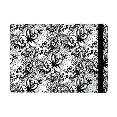 Flower Lace Apple Ipad Mini Flip Case