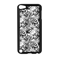 Flower Lace Apple iPod Touch 5 Case (Black)