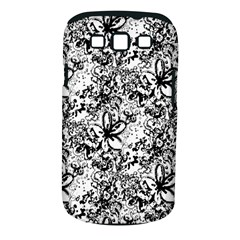 Flower Lace Samsung Galaxy S III Classic Hardshell Case (PC+Silicone)