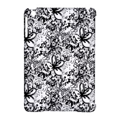 Flower Lace Apple iPad Mini Hardshell Case (Compatible with Smart Cover)