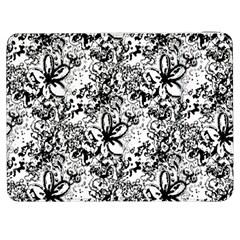 Flower Lace Samsung Galaxy Tab 7  P1000 Flip Case