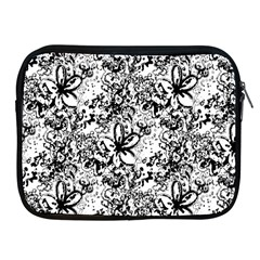 Flower Lace Apple Ipad Zippered Sleeve