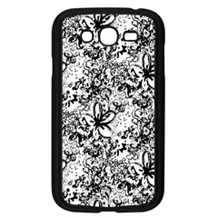 Flower Lace Samsung Galaxy Grand Duos I9082 Case (black)