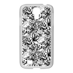 Flower Lace Samsung Galaxy S4 I9500/ I9505 Case (white)