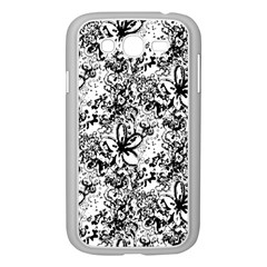 Flower Lace Samsung Galaxy Grand Duos I9082 Case (white)