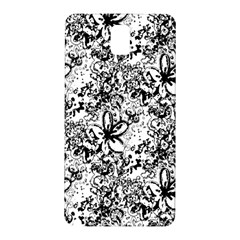 Flower Lace Samsung Galaxy Note 3 N9005 Hardshell Back Case