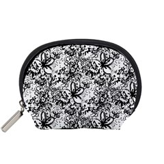 Flower Lace Accessories Pouch (small)