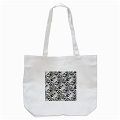 Flower Lace Canvas Tote Bag