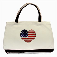 Grunge Heart Shape G8 Flags Classic Tote Bag