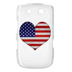 Grunge Heart Shape G8 Flags BlackBerry Torch 9800 9810 Hardshell Case