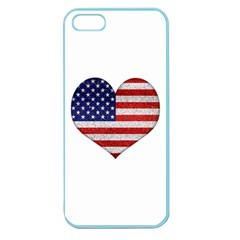Grunge Heart Shape G8 Flags Apple Seamless Iphone 5 Case (color)