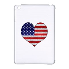 Grunge Heart Shape G8 Flags Apple iPad Mini Hardshell Case (Compatible with Smart Cover)