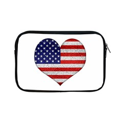 Grunge Heart Shape G8 Flags Apple iPad Mini Zippered Sleeve