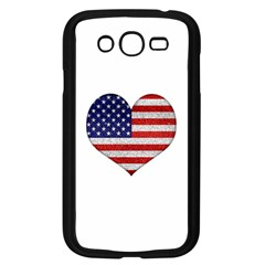 Grunge Heart Shape G8 Flags Samsung Galaxy Grand Duos I9082 Case (black)
