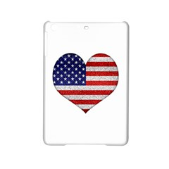Grunge Heart Shape G8 Flags Apple iPad Mini 2 Hardshell Case