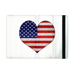 Grunge Heart Shape G8 Flags Apple iPad Mini 2 Flip Case