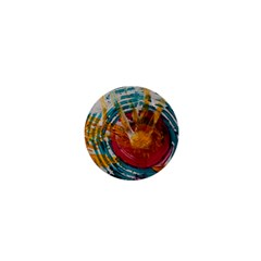 Art Therapy 1  Mini Button Magnet