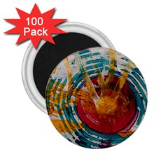 Art Therapy 2.25  Button Magnet (100 pack)