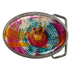Art Therapy Belt Buckle (Oval)
