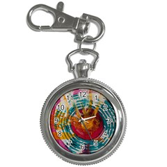 Art Therapy Key Chain Watch