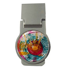 Art Therapy Money Clip (round)