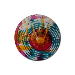 Art Therapy Drink Coasters 4 Pack (Round)