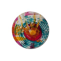 Art Therapy Magnet 3  (Round)
