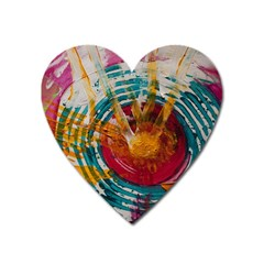 Art Therapy Magnet (Heart)