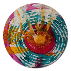 Art Therapy Magnet 5  (Round)