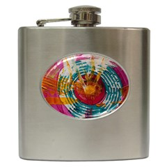 Art Therapy Hip Flask