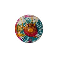 Art Therapy Golf Ball Marker 4 Pack