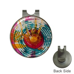 Art Therapy Hat Clip with Golf Ball Marker
