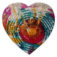 Art Therapy Jigsaw Puzzle (heart)