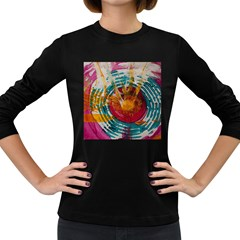 Art Therapy Women s Long Sleeve T-shirt (Dark Colored)