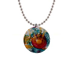 Art Therapy Button Necklace