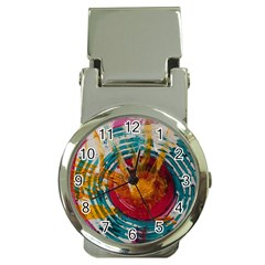 Art Therapy Money Clip with Watch