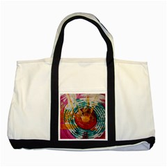 Art Therapy Two Toned Tote Bag